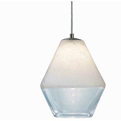 Encalmo 2-Light Geometric Pendant Shade Color: Clear