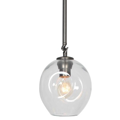Constellation 1-Light Mini Pendant Shade Color: Clear