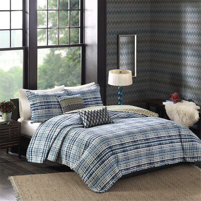 Breeze 5 Piece Quilt Set Size: King