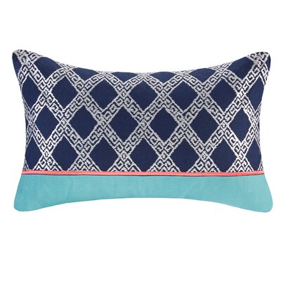 Mix and Match Embroidery Cotton Lumbar Pillow