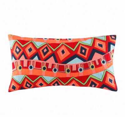 Hollywood Boho Cotton Lumbar Pillow
