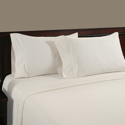 Cool Touch 400 Thread Count Cotton Sheet Set Color: White, Size: Queen