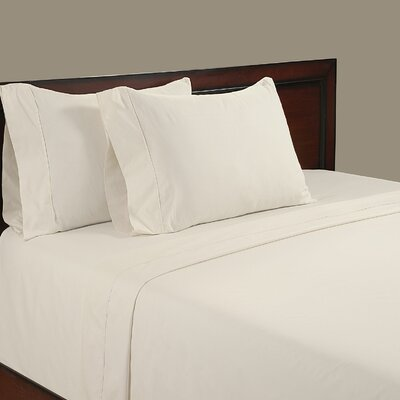 Velvet Touch 400 Thread Count Cotton Sheet Set Size: Full, Color: White