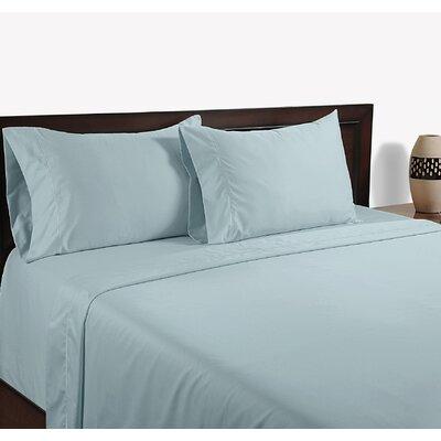 600 Thread Count Cotton Sheet Set Size: King, Color: Blue