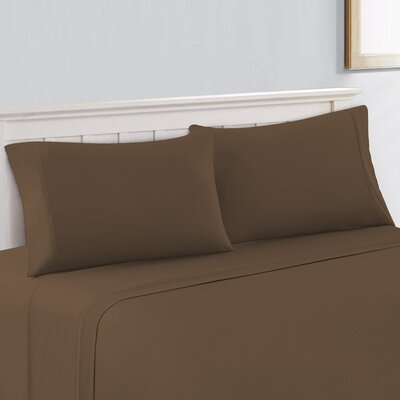 600 Thread Count 100% Cotton Sheet Set Size: King, Color: Latte