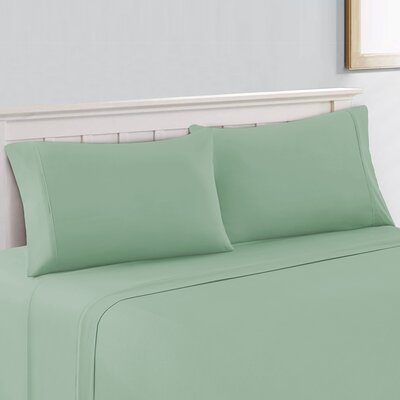 Velvet Touch 400 Thread Count Cotton Sheet Set Size: Queen, Color: Blue