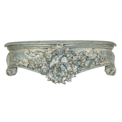 Floral Wreath Bedcrown Finish: Monarchy