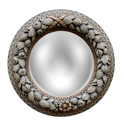 Nut Ring Mirrored Ceiling Medallion Finish: Verona