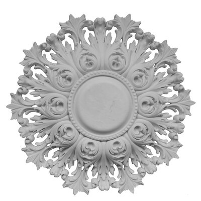 Acanthus Pierced Ceiling Medallion Finish: Unfinished
