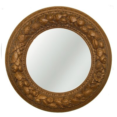 Nut Ring Mirrored Ceiling Medallion Finish: Bronze