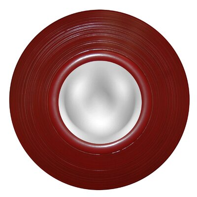 Groove Mirror Finish: Antique Chinese Red