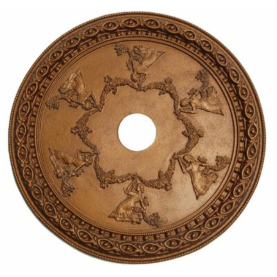 Grecian Ceiling Medallion Finish: Bronze