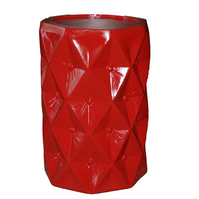 Starlight End Table Color: Chinese Red