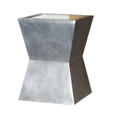 Alex End Table Finish: Silver Leaf