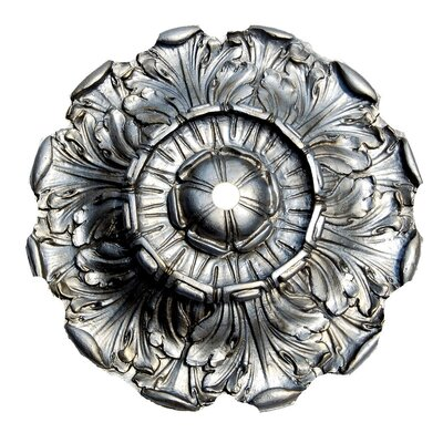 Acanthus Ceiling Medallion Finish: Gilt Silver