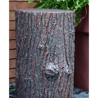 Huntley Outdoor Tree Stump Accent Table