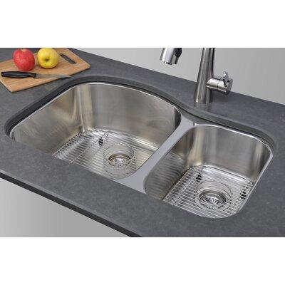 Chicago Series 31.5 x 20.5 Double Basin Undermount Kitchen Sink