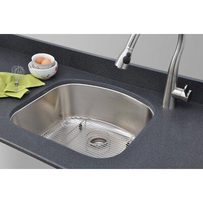Chicago Series D-shaped 23.06 x 20.88 Undermount Kitchen Sink