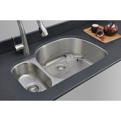 Craftsmen Series 31.75 x 20.88 20/80 Double Bowl Kitchen Sink