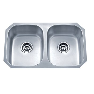Speciality Series 29.13 x 18.13 Equal Double Kitchen Sink