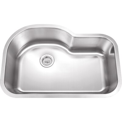 Speciality Series 31.5 x 21.13 Uneven Single Bowl Kitchen Sink