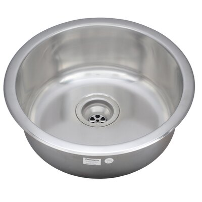 Jazz Series 18.25 x 18.25 Bar Sink