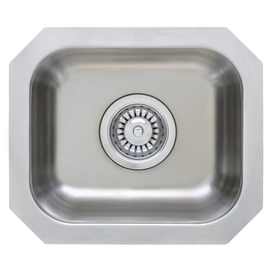 Great Lakes Series 14 x 12 Rectangular Bar Sink