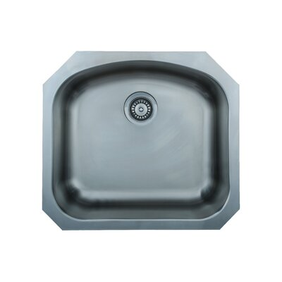 Chicago Series 23.06 x 20.88 D-shaped Kitchen Sink