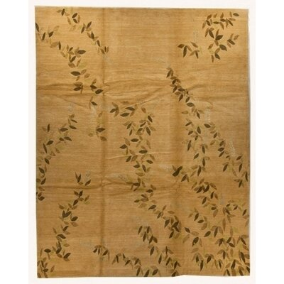 Arts&Crafts Brown Rug Rug Size: Rectangle 3 x 5