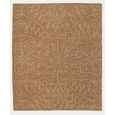 Designers Reserve Brown/Cream Area Rug Rug Size: 3 x 5
