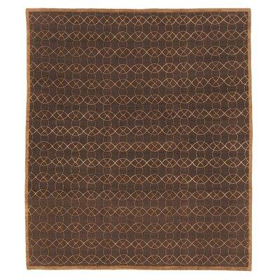 Designers Reserve Dark Brown Area Rug Rug Size: 3 x 5