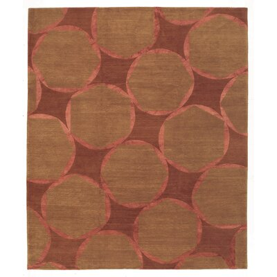 Designers Reserve Brown/Red Area Rug Rug Size: 3 x 5