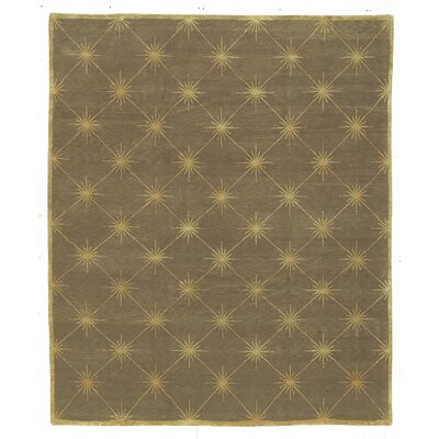 Designers Reserve Brown/Gold Area Rug Rug Size: 3 x 5