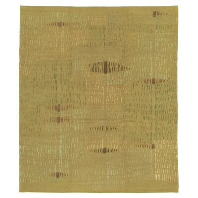 Designers Reserve Yellow/Green Area Rug Rug Size: 9 x 12