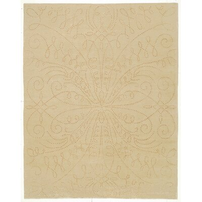 Designers Reserve Tan Area Rug Rug Size: 3 x 5