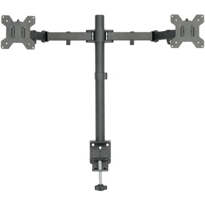 Dual LCD Monitor Heavy Duty Height Adjustable 2 Screens Desk Mount