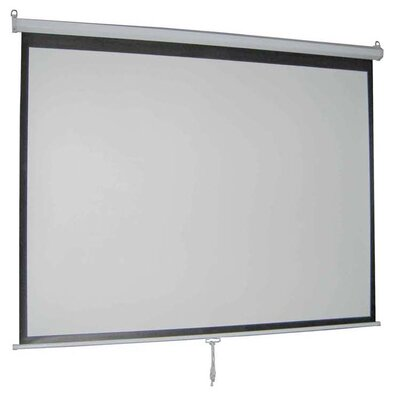 Vivo Matte White Manual Projection Screen Viewing Area: 100