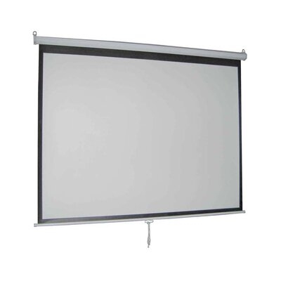 Matte White 119 diagonal Manual Projection Screen