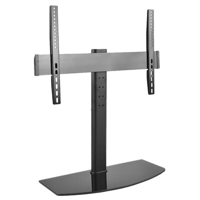 Universal Flat Screen TV Table Top Stand Glass Base Desktop Mount for 32-55 LCD