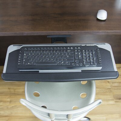 5 H x 25 W Desk Keyboard Tray