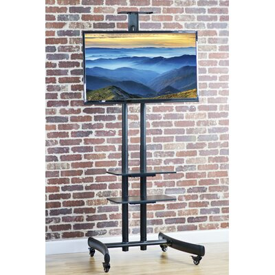 TV Cart Mobile Wheels Fixed Floor Stand Mount for 30