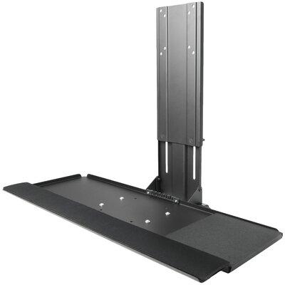 Platform Vesa Mount Attachment Height Adjustable Keyboard Tray