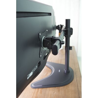 Free Standing Dual Monitor Desk Mount