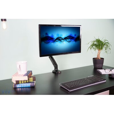 Counterbalance Gas Spring Desk Mount with USB