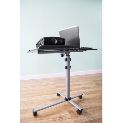 Adjustable Trolley Mobile Projection Stand