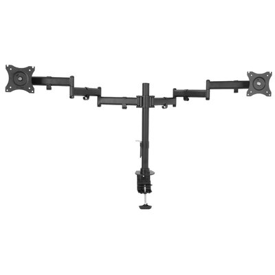 Dual Monitor Extending Arm Pole Mount for 33- 40 LCD Screen
