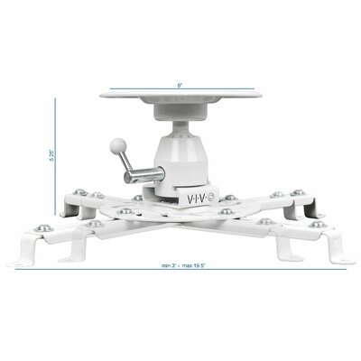 Articulating Heavy Duty Universal Projector Ceiling Mount