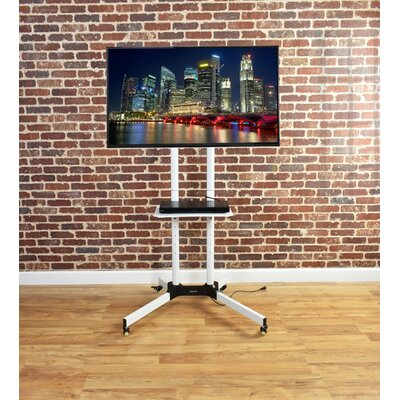 Mobile TV Cart Tilt Floor Stand Mount for 32-65 LCD/LED/Plasma Flat Panel Screens