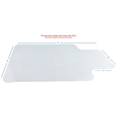 Computer Chair Protective Utility Mat