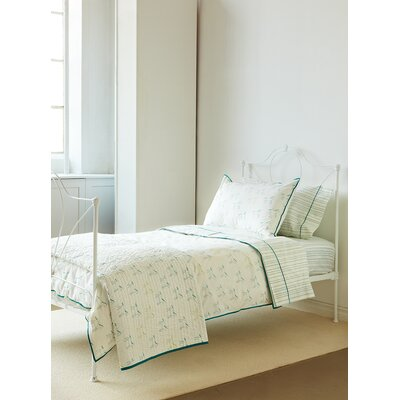 Felix Painted Stripe Blue Standard Pillowcase